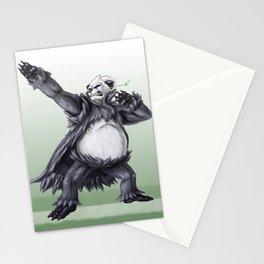 Fighting Panda Stationery Cards