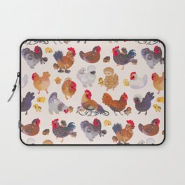 Chicken and Chick Laptop Sleeve