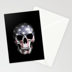 American Skull Stationery Cards