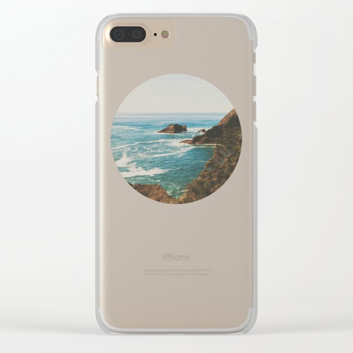 Oregon Coast Clear iPhone Case