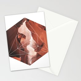 A Great Canyon - Geometric Photography Stationery Cards