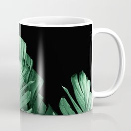 Green Banana Leaves Dream #2 #tropical #decor #art #society6 Coffee Mug