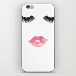 Lips & Lashes iPhone Skin
