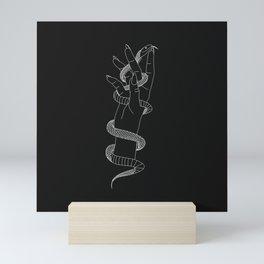 Daydream - Snake Illustration Mini Art Print