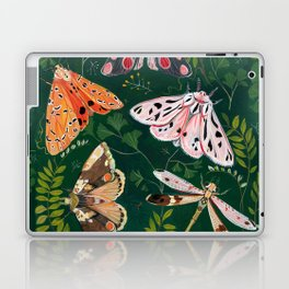 Moths and dragonfly Laptop & iPad Skin