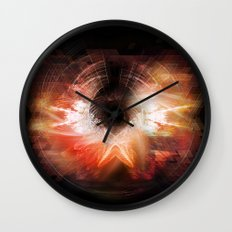 Cherub Under the Microscope: 4 Wall Clock