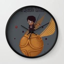 The little wizard Wall Clock