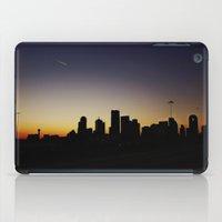 dallas iPad Cases featuring Dallas Sillouette by Jarod Austin Photography
