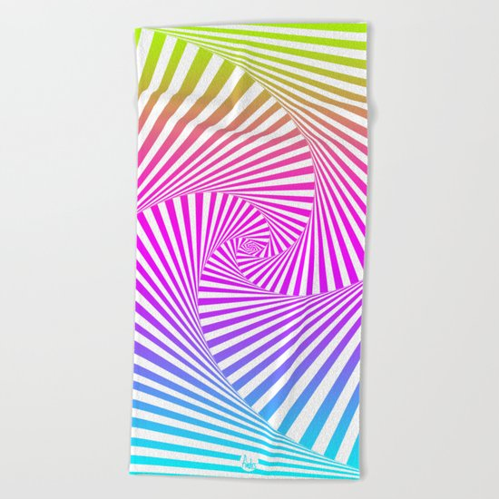 Summer Twista 3 Beach Towel