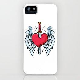 LOVE HURTS iPhone Case
