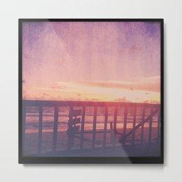 Lanta Sunset Metal Print