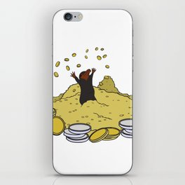 Happy As A Niffler! iPhone Skin
