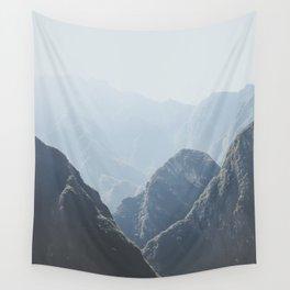 Mountains around Machu Picchu Wall Tapestry