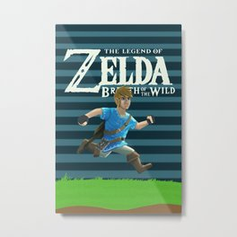 Super Link Run Metal Print