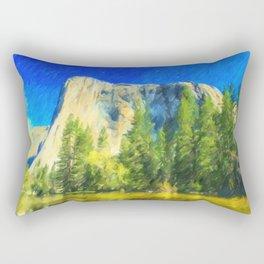 Yosemite Mountain Rectangular Pillow