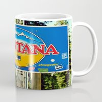 montana Mugs featuring Montana by americansummers
