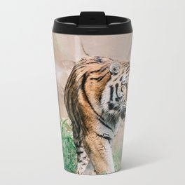Tiger Metal Travel Mug