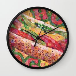 Hot Dog (Chicago Style) Wall Clock