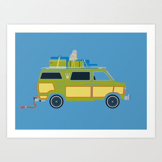 The Family Vanster Art Print