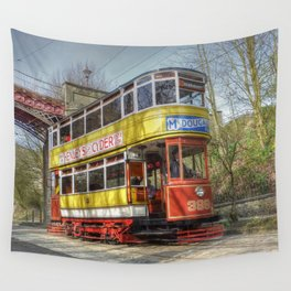 Leeds Tram 399 Wall Tapestry