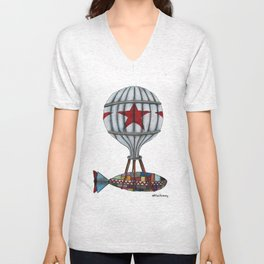When Submarines Fly Unisex V-Neck