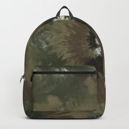 Camo Tie Dye Backpack
