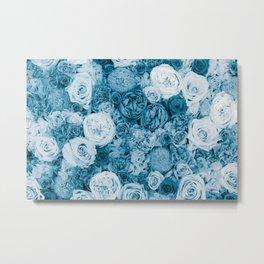Bouquet ver.bluegreen Metal Print