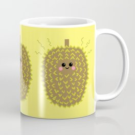 Happy Pixel Durian Coffee Mug