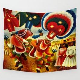 Oaxaca Mexico Vintage Travel Wall Tapestry