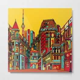 Sound of the city Metal Print