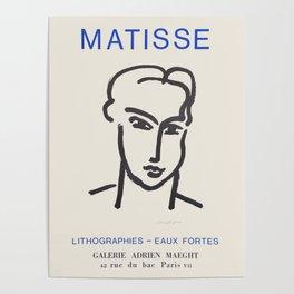 Henri Matisse - Exhibition poster Poster