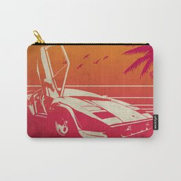 White Ride Carry-All Pouch