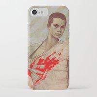 stiles stilinski iPhone & iPod Cases featuring Stiles Stilinski by Sudjino