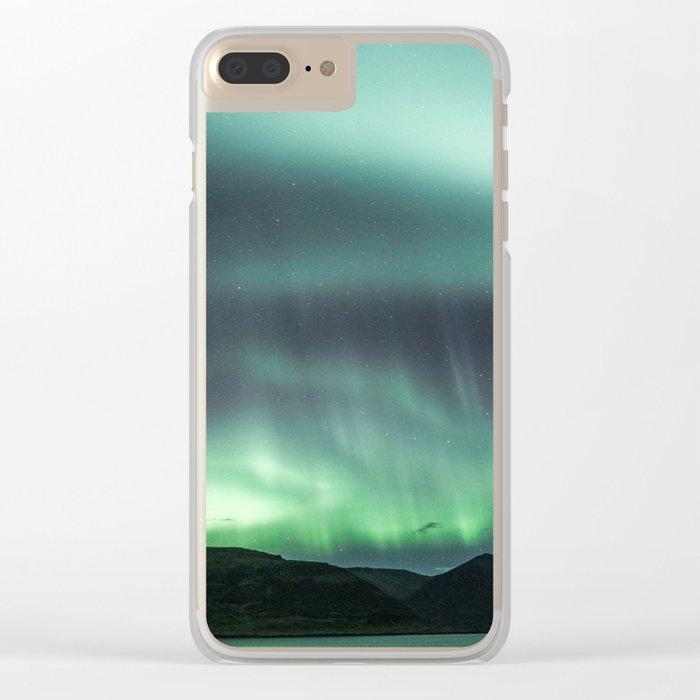 Borgarfjörður, Iceland Clear iPhone Case
