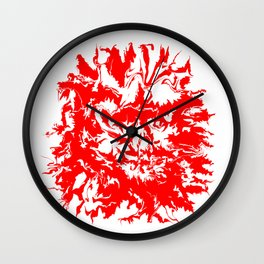 face11 red Wall Clock