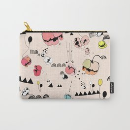 Poppies Print Carry-All Pouch