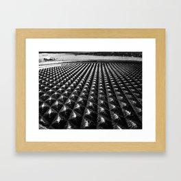 Manhole Cover-Fort Smith, Arkansas Framed Art Print
