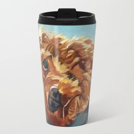 Newton the Lounging Cocker Spaniel Travel Mug
