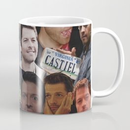 Misha Collins Collage Coffee Mug