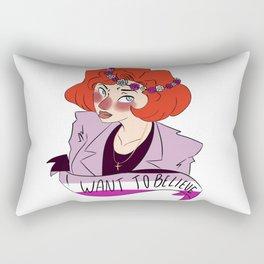 Believer Scully Rectangular Pillow