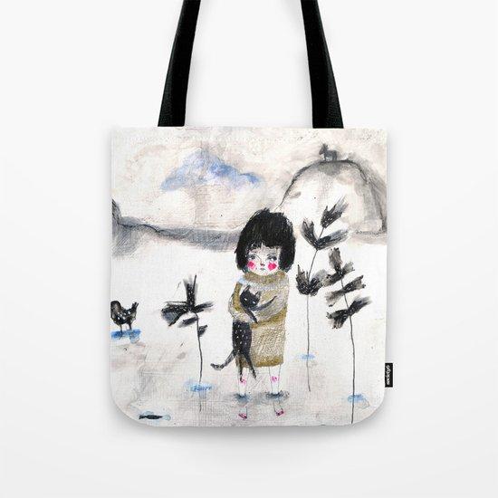 Cat and me Tote Bag