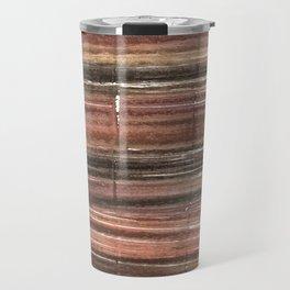 Abstract stripes Travel Mug