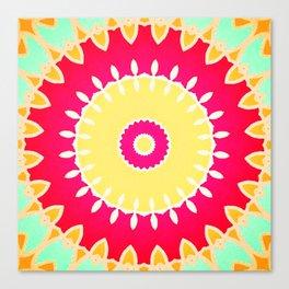 Sunflora Canvas Print