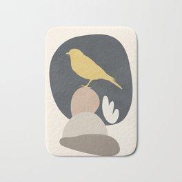 Cute Little Bird II Bath Mat
