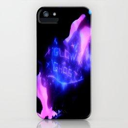 Glow Ghost - scratch iPhone Case
