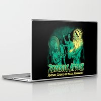 zombies Laptop & iPad Skins featuring Zombies Attack by pigboom el crapo