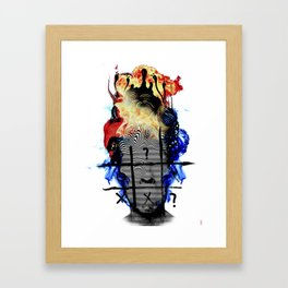 Internal Warfare Framed Art Print