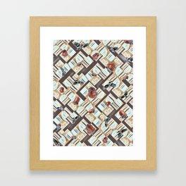 Winter Stash. Framed Art Print
