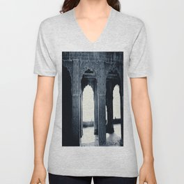 The Way to the light is longer  Unisex V-Neck