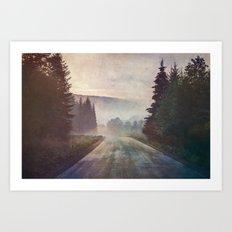 Road trippin Art Print